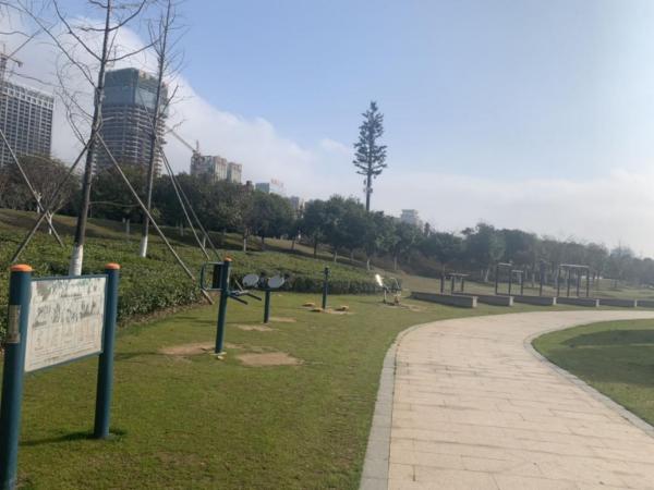 信江新區濕地公園健身廣場