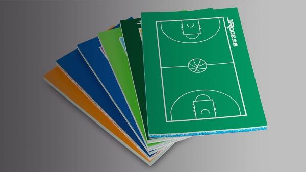 籃球場硅PU塑膠
